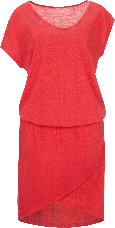 super.natural Comfort Vestito Donna rosso su Addnature 400e248b560